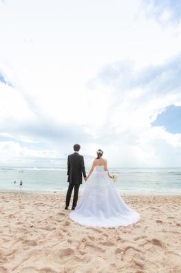 40代のkン活についてブログイメージ海辺の結婚式