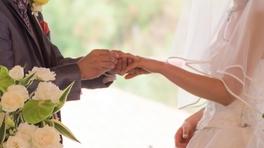 結婚式リング交換