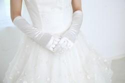 結婚式女性